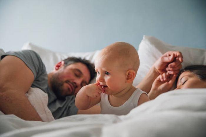 signs of teething baby trouble sleeping